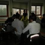 Il gruppo del corso in azione
