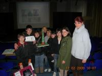 La 3L S.M.S. Verdi con alcune professoresse